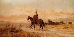 Ilustrasi Don Quixote de la Mancha (Foto: gramedia.com)