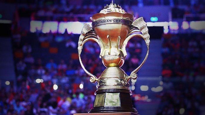 Foto : TribuneNews.com (Ilustrasi Trofi Piala Sudirman Cup)