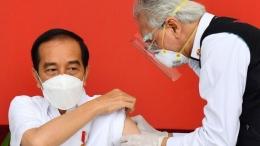 Vaksinasi Pertama Indonesia (Sumber : BBC)