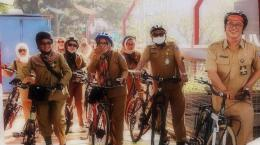 ASN bersepeda. (foto dok. DPU Bandung)