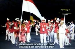 www.youtube.com  Kontingen Indonesia denagn beberapa kursi roda dan jenis2 disabilitas lainnya