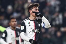 Paulo Dybala terancam tak diizinkan Juventus untuk membela Argentina di kualifikasi Piala Dunia 2022, September nanti. Foto: AFP/ISABELLA BONOTTO dipublikasikan kompas.com