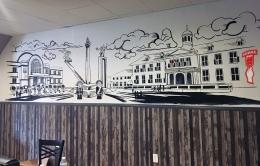 Contoh mural di properti pribadi (Indomural.id)
