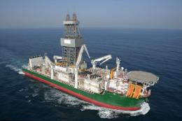Drillship yang Dibangun oleh Samsung Heavy Industries. Sumber: kedglobal.com
