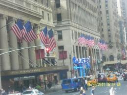 Gedung pemerintahan di New York (dok pribadi)