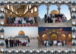 Mereka yang mencari ridho Illahi di Masjid Al Aqsha (Dokumen Pribadi)