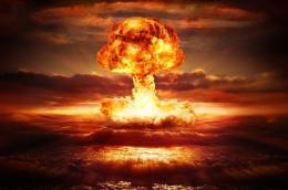 Gambaran ledakan nuklir yang mematikan (sumber gambar: National Geographic Indonesia)