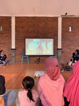 Dokumentasi KKN 65. Anak-anak dalam kegiatan