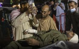 Korban serangan bandara Kabul (dok.okezone.com)