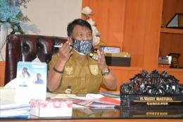 Gubernur Sulteng Rusdi Mastura. Doc Adm Pimpinan Pemprov Sulteng