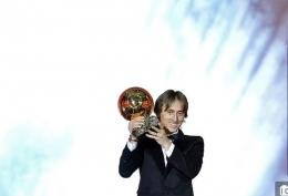 Luka Modric pemenang Ballon d'Or 2018 usai menjadi pemain terbaik Eropa. Apakah Jorginho akan mengikuti jejak serupa? : Dailymail.co.uk