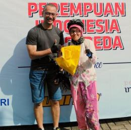 Bersama Founder B2W-Indonesia. Foto : dokumentasi pribadi