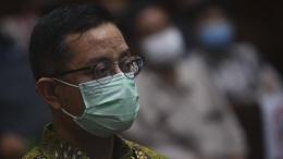 Terdakwa kasus korupsi bansos Juliari Batubara (ANTARA FOTO/MUHAMMAD ADIMAJA)