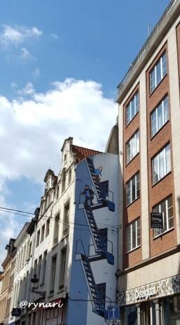 Tintin dan Kapten Haddock (Dokumen pribadi)