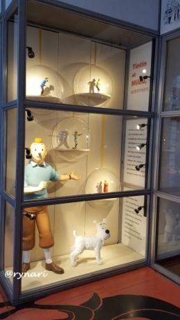 Tintin dan Snowy (dokumen pribadi)