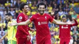 M Salah mesin gol Liverpool (bola.com)