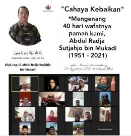 *mengenang 40 hari wafatnya paman kami Abdul Radja Sutjahjo Mukadi (1951-2021)