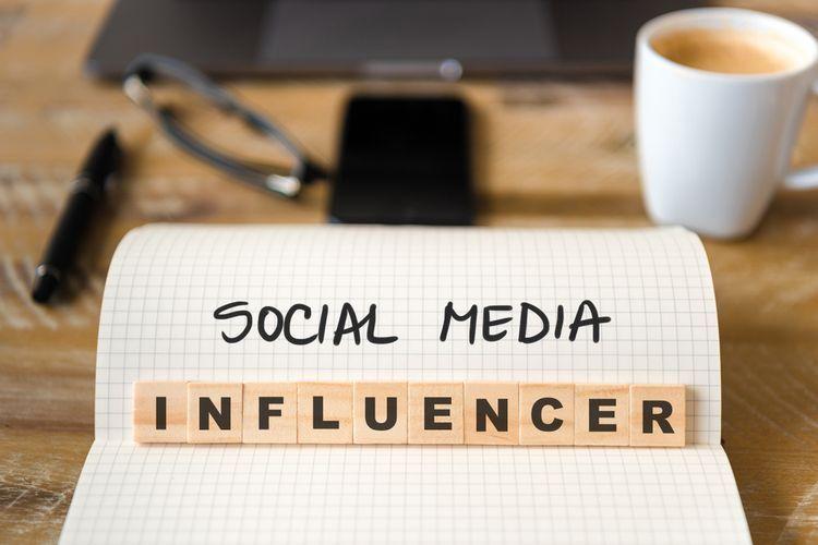 Social media influencer (Sumber: Shutterstock via Kompas.com)