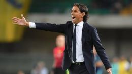 Simone Inzaghi tidak bisa membiarkan Inter hanya sebagai penggembira di UCL. Sumber: via Reuters