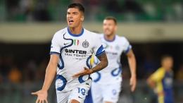 Correa menjadi bintang kemenangan Inter di pekan kedua. Sumber: via Reuters