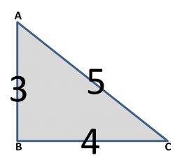 Penerapan pola 3-4-5 pada saat pembuatan bouwplank/menarik benang (Dokumentasi pribadi)