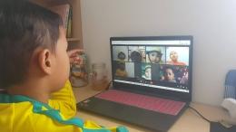 Pembelajaran Anak Usia Dini Online sumber : dokumentasi pribadi