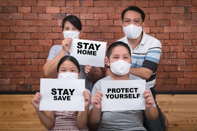 Ilustrasi pandemi mengajarkan kita untuk menjadi lebih baik.| Sumber: Dokumentasi BKKBN via Kompas.com