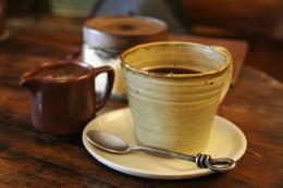 Ilustrasi sajian secangkir kopi (Foto: Sharonang Via Pixabay)