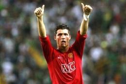 Kembalinya Cristiano Ronaldo ke MU| Sumber: FRANCISCO LEONG/AFP via Kompas.com