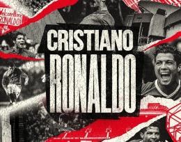 Ronaldo resmi kembali ke MU. Sumber: fistade.com