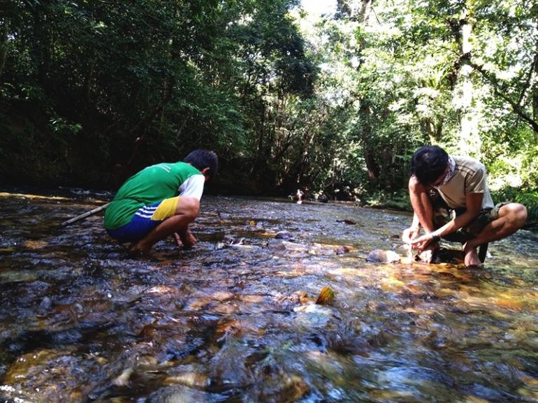 Sungai Utik yang berarti putih, atau jernih dalam Bahasa Dayak Iban. Sungai ini merupakan sumber kehidupan | Foto: Aseanty Pahlevi/Mongabay Indonesia