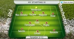 Ada tiga pemain yang menjadi tumpuan di lini depan. Tanggung jawab mencetak gol tak sepenuhnya di pundak Ronaldo: www.manchestereveningnews.co.uk