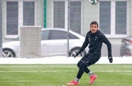 Egy Maulana Vikri baru saja bergabung dengan Klub Slovakia, FK Senica. Gambar: football5stars.com