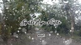 Puisi Seperti Hujan dan Cinta/ Dokpri @ams99 By Text On Photo