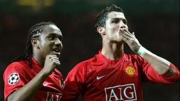 Ronaldo saat berseragam United. Ia memiliki kenangan enam musim yang berkesan di Old Trafford: www.manchestereveningnews.co.uk