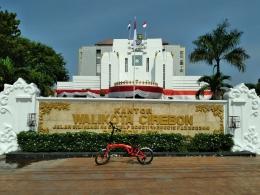 Gedung Balaikota yang menjadi kantor bagi Walikota dan Wakil Walikota Cirebon. (Dokpri)