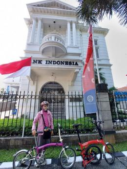 Gedung Bank Indonesia bergaya art deco. (dokpri)