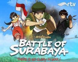 Film Battle of Surabaya.Foto :laman Facebook RTV