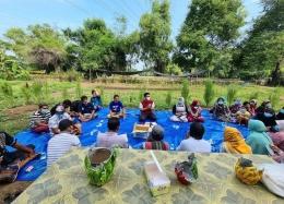 Sekretaris Dewan Komisi 3 DPRD Kabupaten Pasuruan datang dialog dengan pemuda dan warga Dam Licin (Dok. Pribadi)