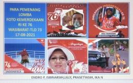 Image caption Twibbonize pemenang karya 5 orang anggota reuni vistual Wasibarat Tld'73 (dokpri M Nur Indro)