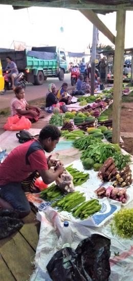 Pasar Mopah, Merauke (Marahalim Siagian)
