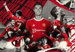 Sejumlah ilustrasi Cristiano Ronaldo saat berseragam Manchester United: Dailymail.co.uk