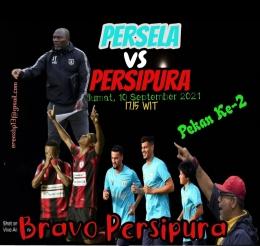 Foto: Jadwal Pekan Ke-2, Persipura vs Persela/Sumber: Ilustrasi Pribadi