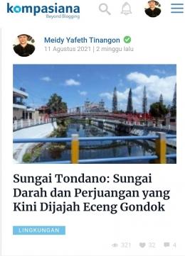 Tangkapan layar Kompasiana.com