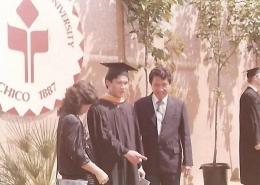 dokumentasi pribadi/foto tahun 1987 ,putra pertama kami di wisuda sebagai Master of Computer Science dalam usia 21 tahun.