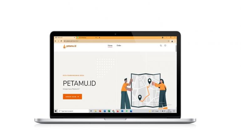 Ptototype Website Petamu.id - Dok. Pribadi