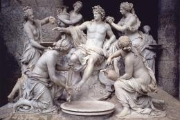 Apollon and the Nymphs (Franois Girardon - Marble)