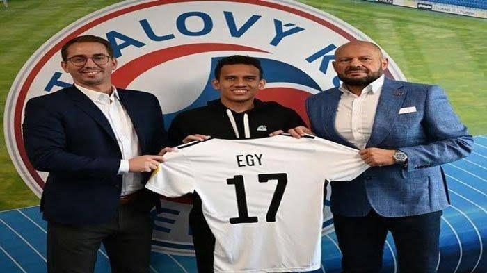 Momen peresmian transfer Egy Maulana Vikri ke FK Senica (Tribunnews.com)