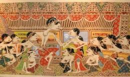 Kisah Panji dan Candrakirana ini asli nusantara (sumber: nationalgeographic.grid.id)