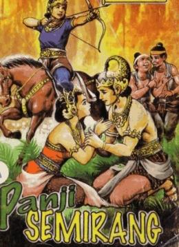 Kisah cinta Raden Panji Inu Kertapati dan Galuh Candrakirana menjadi cerita utama sendratari topeng Malang (sumber: dongengceritarakyat.com)